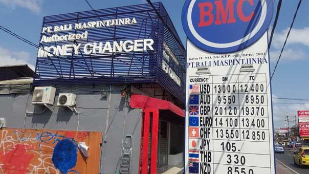 Bali travel tips 2016 atms money changers and riding bikes nowherenomads - How do bureau de change make money ...